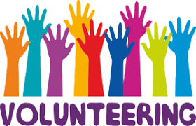 Hands up and volunteer for GMIA
