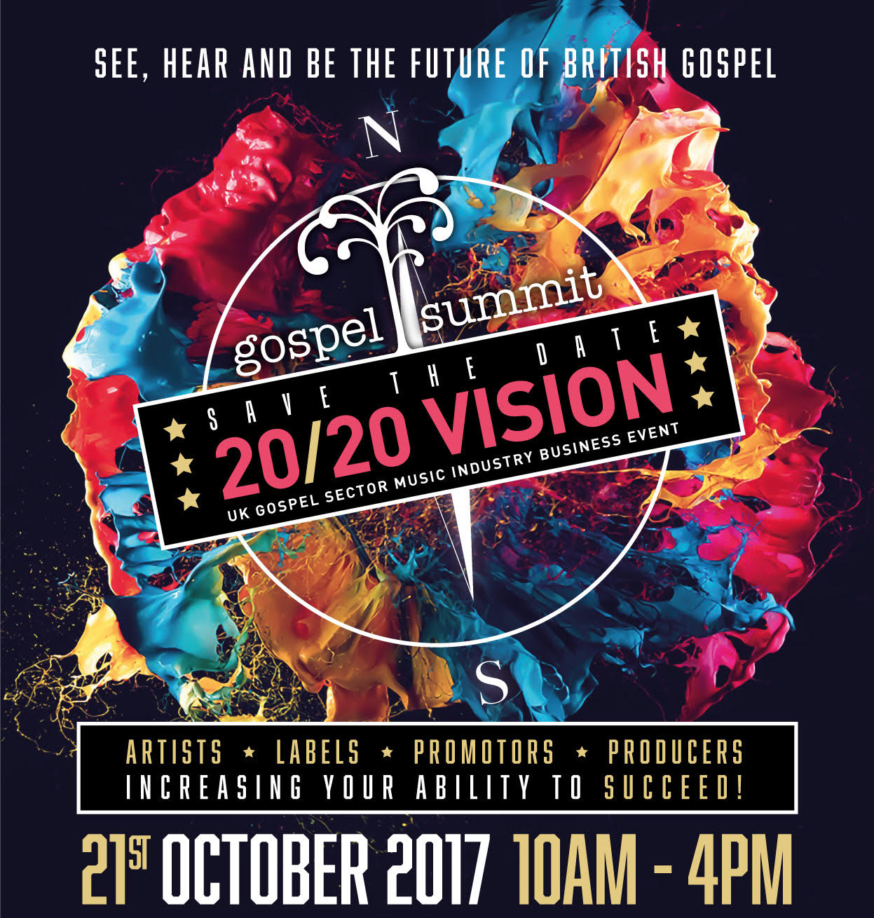 Gospel Summit 2017 Theme 20/20 Vision